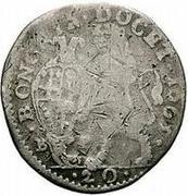20 bolognini - Alexander VII – revers