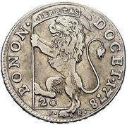 20 bolognini - Pius VI – revers