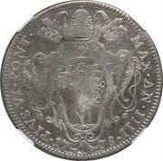 50 bolognini - Pius VI – avers