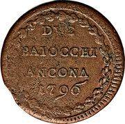 2 baiocchi - Pius VI – revers