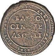 5 Baiocchi - Pius VI – revers