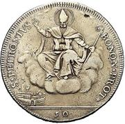 50 bolognini - Pius VI -  revers