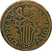 1 baiocco Benedict XIV – avers