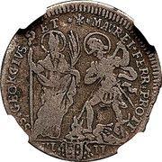 8 baiocchi, 1 muratola Clement XI – revers