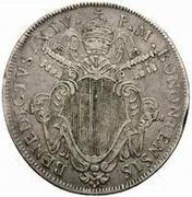 1 scudo - Benedict XIV – avers