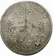 1 scudo - Benedict XIV – revers