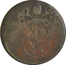 ½ baiocco - Clement IX – avers