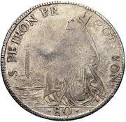 80 bolognini - Pius VI – revers