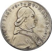 100 bolognini - Pius VI – avers