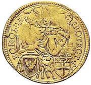 1 zecchino - Pius VI – revers