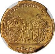 30 paoli, 1 doppia D'oro - Pius VI – revers