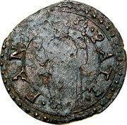 1 Quattrino - Gregorio XIII – revers