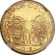 2 Doppie D'oro - Pius VI (Sestus) – revers