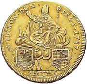 5 zecchini - Pius VI – revers