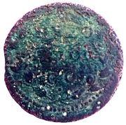 1/2 Baiocco - Alexander VII – revers