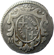 5 Bolognini, 1 Carlino - Clement XII – revers