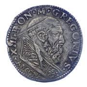 1 Testone - Gregorio XIII – avers