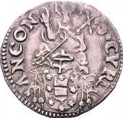 ½ giulio - Clement VII – revers