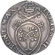 1 giulio - Giulio II – avers