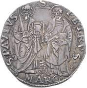 1 giulio - Giulio II – revers