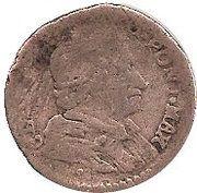 Muraiola (2 Baiocchi) – revers