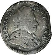Muraiola of 4 baiocchi - Clemens XI – avers