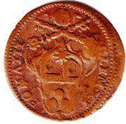 1 Quattrino - Clement XI (Gubbio) – revers