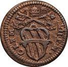 1 quattrino Clement XII – avers