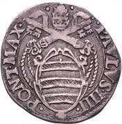 1 giulio - Paul IV – avers