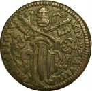 ½ Baiocco - Benedict XIV – avers