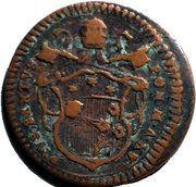 ½ baiocco - Pius VI – avers
