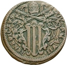 1 baiocco - Benedict XIV (Gubbio) – avers