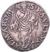 1 giulio - Paul IV – revers