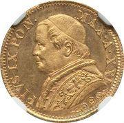 5 lire - Pius IX – avers