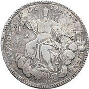 1 Scudo - Pius VI – revers
