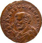 2 ½ baiocchi - Pius VI – avers