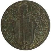 1 baiocco - Benedict XIV – avers