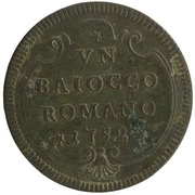 1 baiocco - Benedict XIV – revers