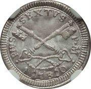 1 baiocco - Pius VI – avers