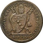 1 baiocco - Pius VII – avers