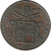 1 Baiocco - Gregory XVI – avers