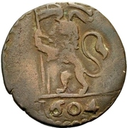 1 quattrino - Clement VIII (Bologna) – avers
