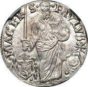 1 giulio - Paul III – revers