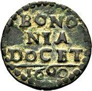 1 Quattrino - Papal State of Bologna - Alessandro VIII – revers