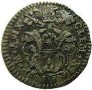 Muraiola of 2 Baiocchi - Clement XI – avers