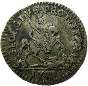 Muraiola of 2 Baiocchi - Clement XI – revers