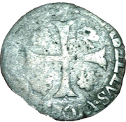 Pope CLEMENT VIII, Avignon (Papal State) Douzain – revers