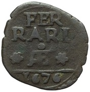 1 Quattrino - Clement X (Papal arms) – revers