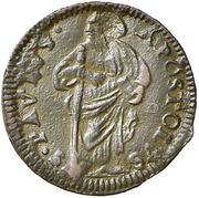 1 Quattrino - Clement XII (St. Paul - standing) – revers