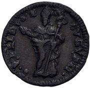 1 Quattrino - Clement XII (St. Ubaldo - standing, mitred) – revers